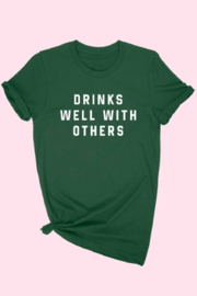 ALPHIA Drinks Well With Others Tee - Product Mini Image
