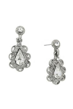 1928 Jewelry Drop Crystal Earrings - Product List Image