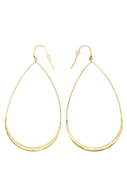Tai Jewelry Drop Hoop Earrings - Product Mini Image