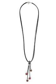 Nadya's Closet Drop Pendant Necklace - Front cropped