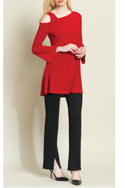 Clara Sunwoo Drop shoulder bell sleeve tunic - Product Mini Image
