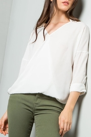 Dahlya Drop Shoulder Blouse - Product Mini Image