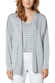 Liverpool  Drop Shoulder Cardigan with Hood - Product Mini Image
