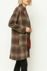 Mystree Drop shoulder one button jacket - Front full body