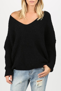 Pol Clothing Drop Shoulder Sweater - Product List Image