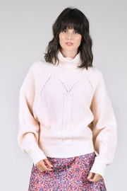 Molly Bracken Drop Shoulder Turtleneck Sweater - Product Mini Image