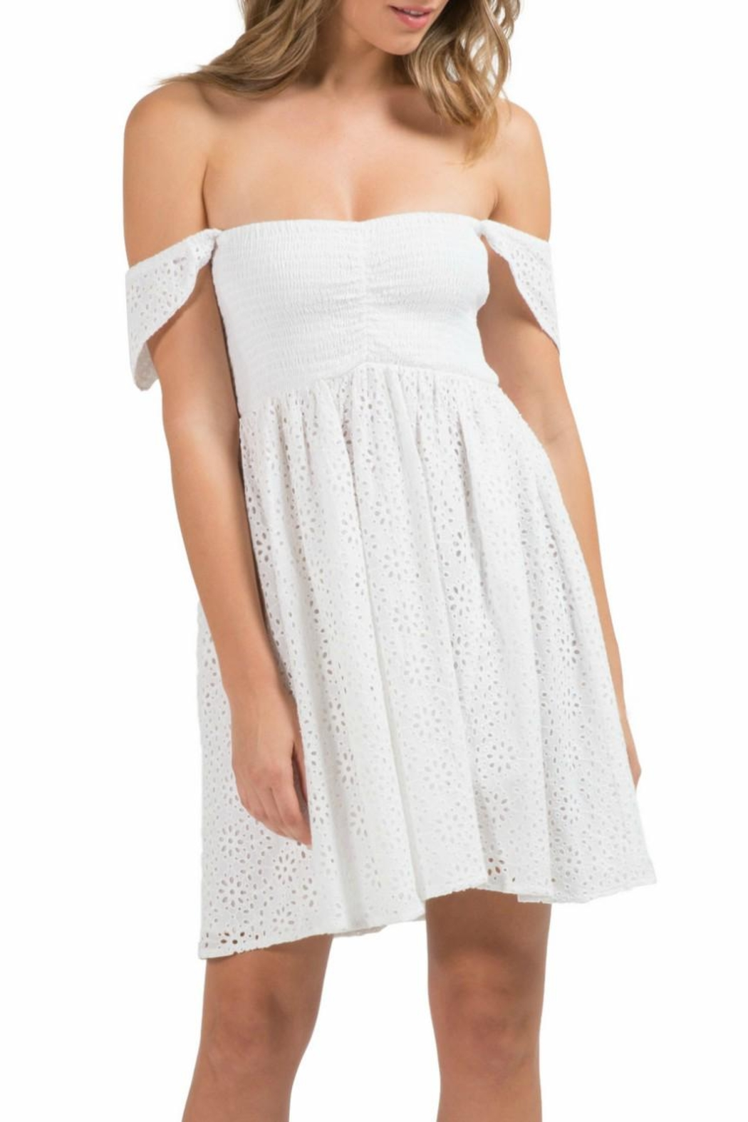 5d0f65530f Elan Drop Sleeve Dress from Westhampton Beach by Chic — Shoptiques