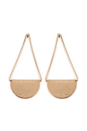 Riah Fashion Drop-Swing Post Earrings - Product Mini Image