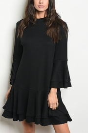 Lyn -Maree's Drop Waist LBD - Front cropped