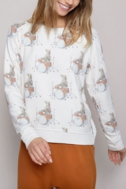 All Things Fabulous Drummer Bear Sweater - Front full body