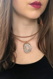 Wild Lilies Jewelry  Druzy Choker Necklace - Product Mini Image
