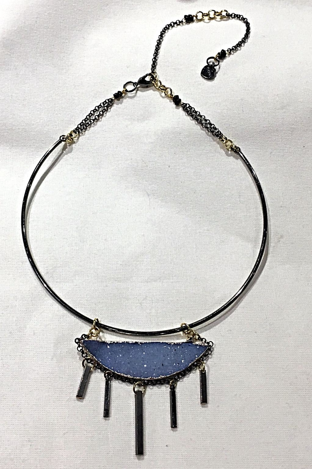 NAKAMOL CHICAGO Druzy  Choker Necklace - Front Cropped Image