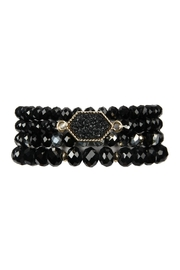 Riah Fashion Druzy-Glass-Beads Bracelet-Set - Product Mini Image