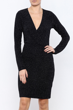 Shoptiques Product: Long-Sleeve Crossover Dress