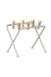 Maileg Drying Rack With Pegs - Product Mini Image