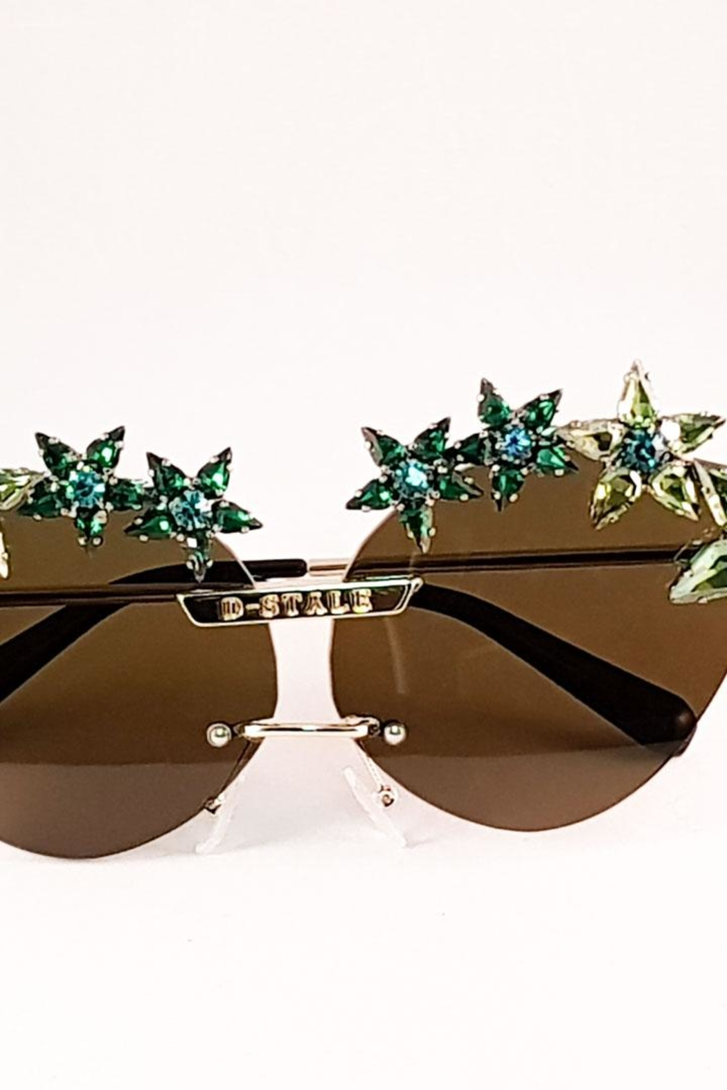 Dstyle Grnys Green Eyewear - Back Cropped Image