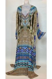 SHAHIDA DUBAI LACE-UP KAFTAN - Product Mini Image