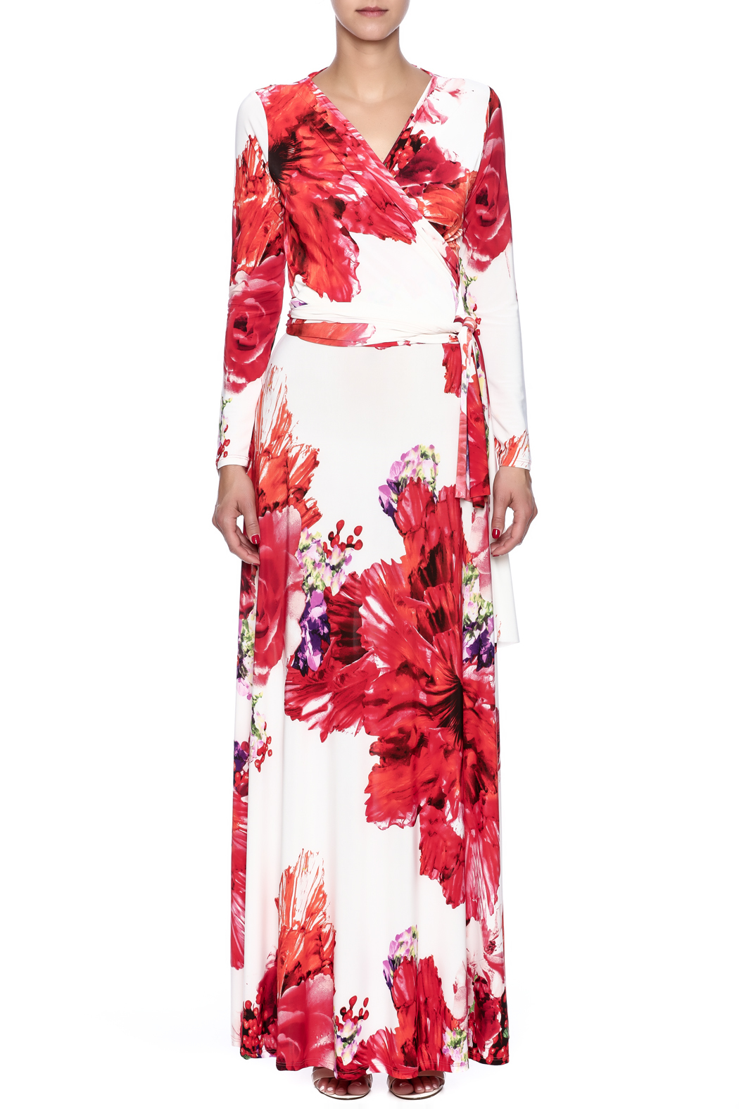 457780704b ducci Floral Wrap Dress from New Jersey by SHE Boutique — Shoptiques