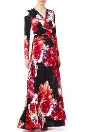 ducci Floral Wrap Dress - Product Mini Image