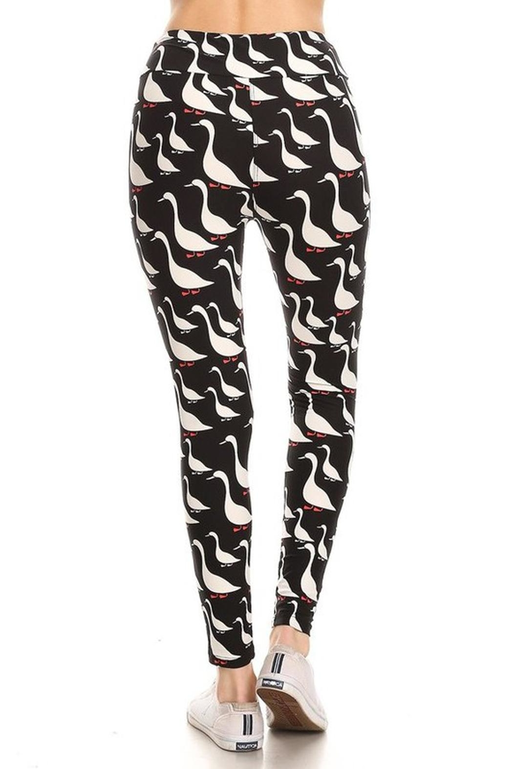 New Mix Ducks Row Legging - Side Cropped Image