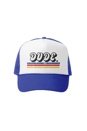 Grom Squad Dude Trucker Hat - Front cropped