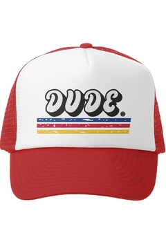 Grom Squad Dude Trucker Hat - Product List Image