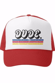 Grom Squad Dude Trucker Hat - Product Mini Image
