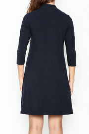 Duffield Lane Kingsley Henley Dress - Back cropped