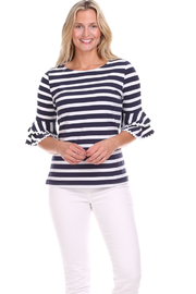 Duffield Lane Zeeland Top - Front cropped