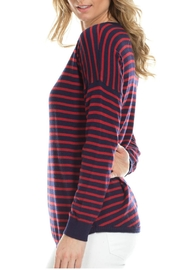 Duffield Lane Cashmere Blend Sweater - Side cropped