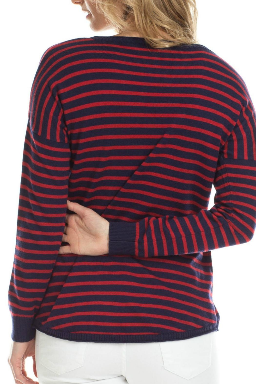 Duffield Lane Cashmere Blend Sweater - Front Full Image