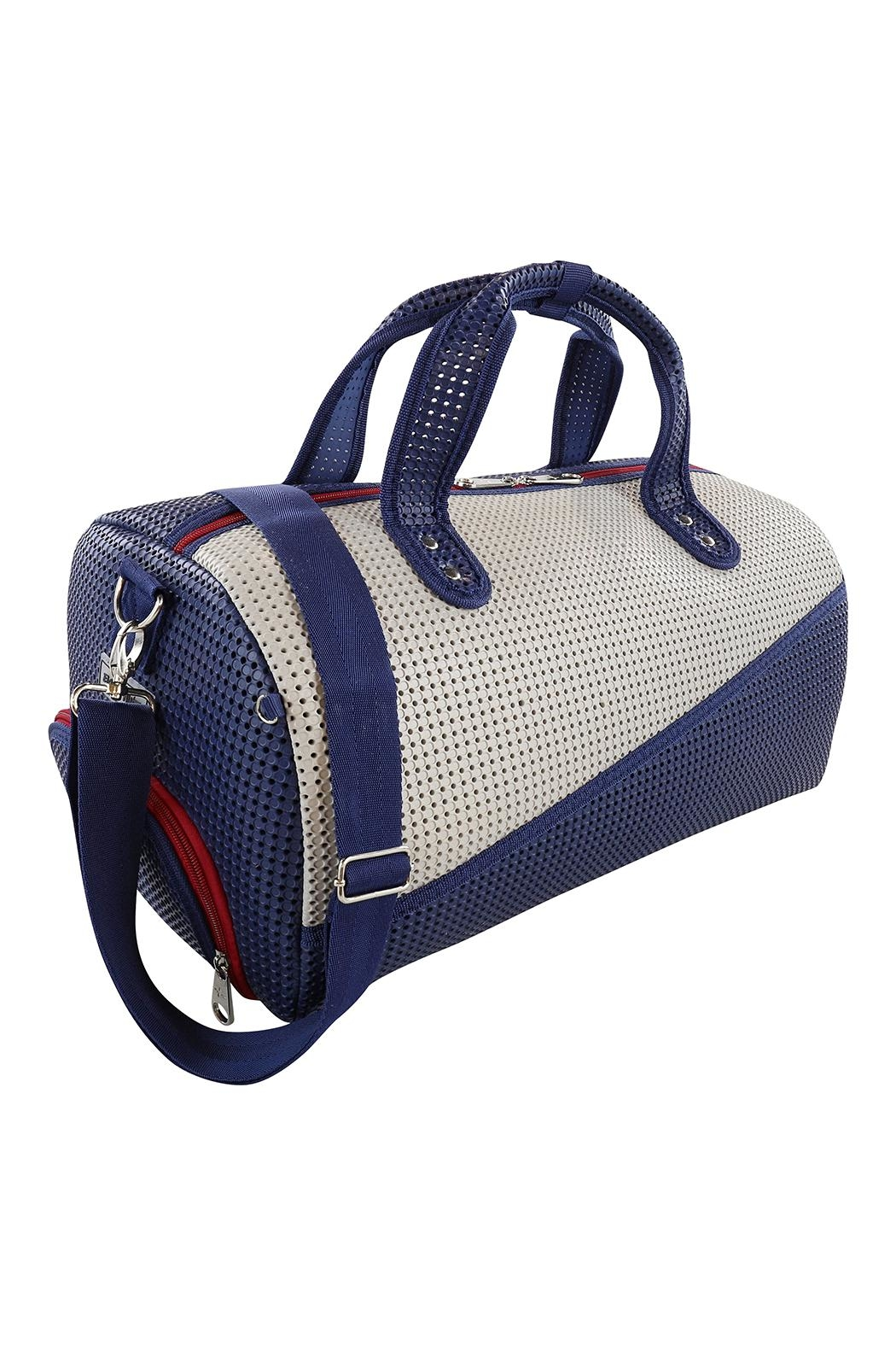 R+D Hipster Emporium  Duffle Shoe Bag - Side Cropped Image