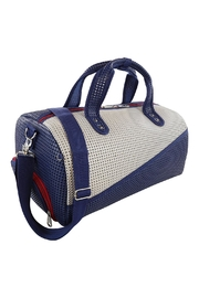 R+D Hipster Emporium  Duffle Shoe Bag - Side cropped