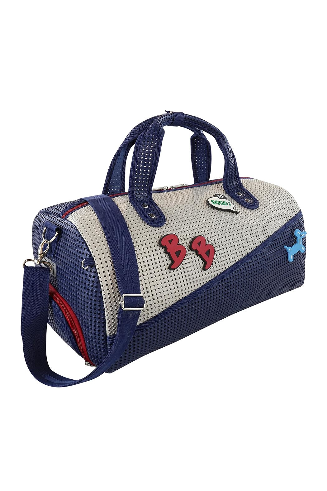 R+D Hipster Emporium  Duffle Shoe Bag - Front Cropped Image
