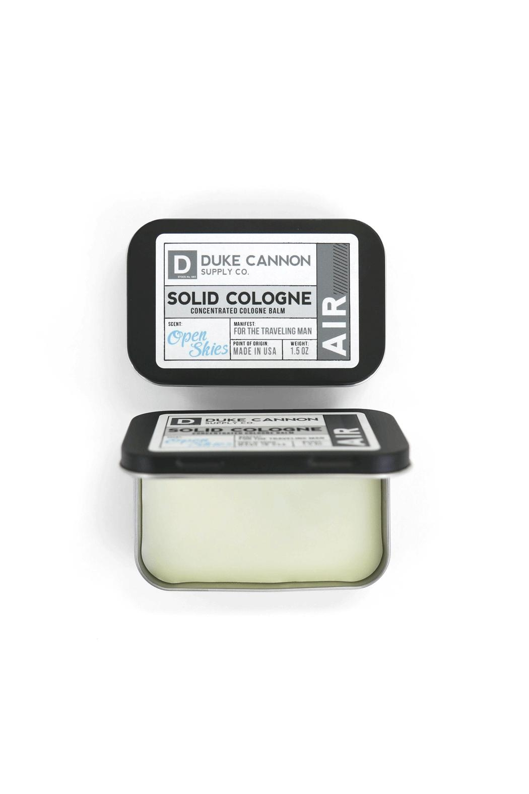 Duke Cannon Solid Cologne - Air - Front Full Image