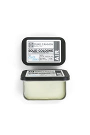 Duke Cannon Solid Cologne - Air - Front full body