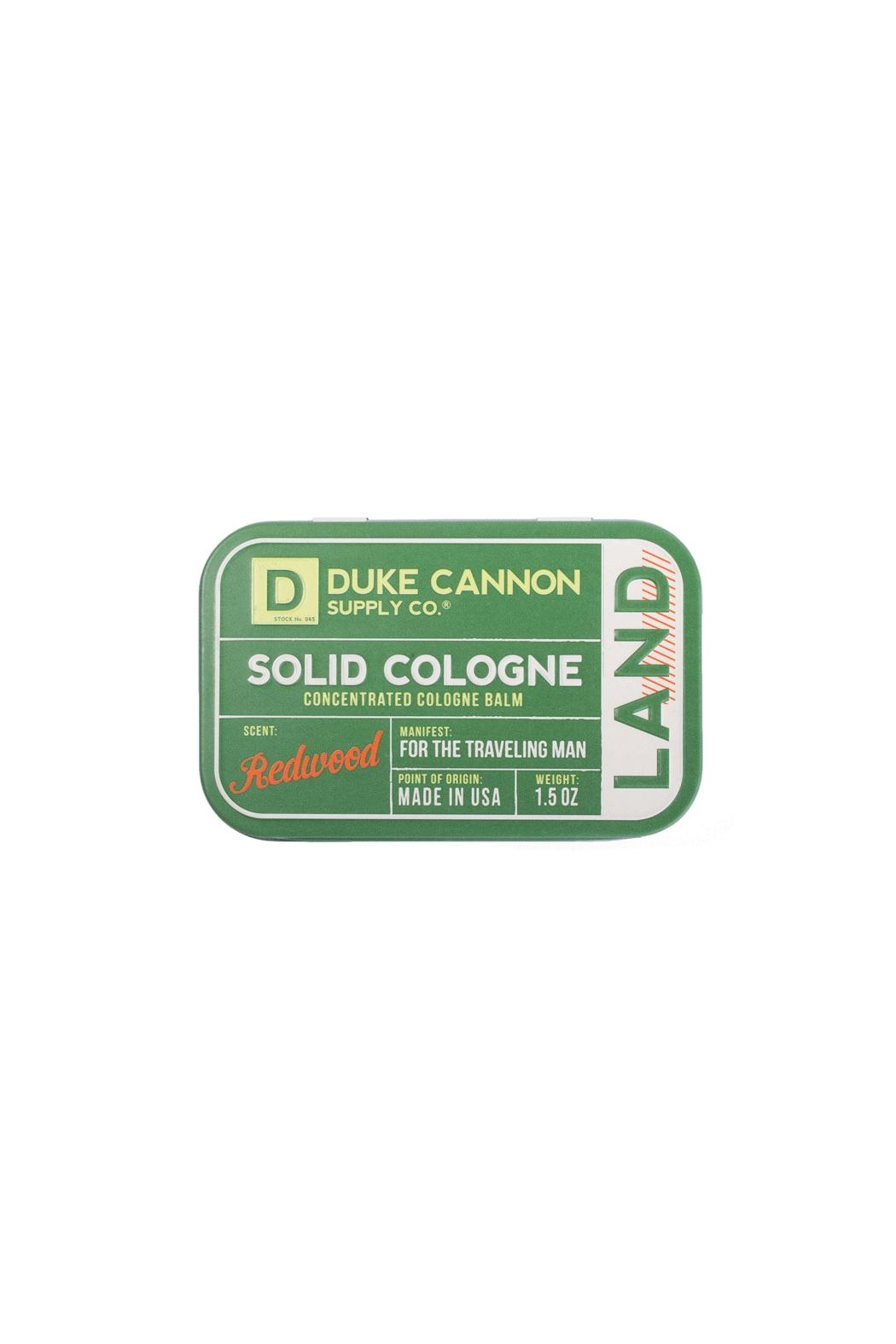 Duke Cannon Solid Cologne - Land - Main Image