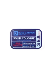 Duke Cannon Solid Cologne - Sea - Product Mini Image