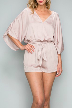 Shoptiques Product: Dull Satin Romper