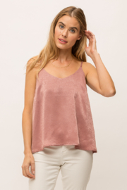 Mystree Dull Satin Tank - Product Mini Image