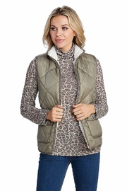Mud Pie Duncan Sherpa Vest - Product Mini Image