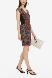 DESIGUAL Dunia Tierra Dress - Front cropped