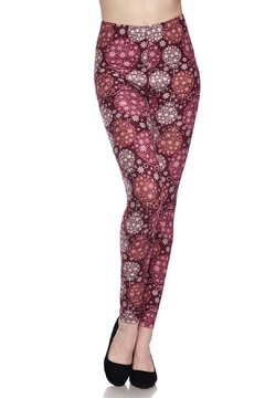 New Mix Duo Snowflake Legging - Product List Image