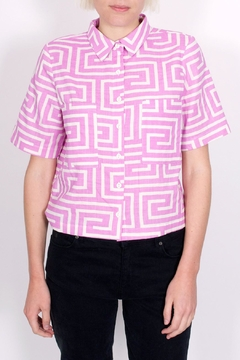 Dusen Dusen Collared Tee - Product List Image