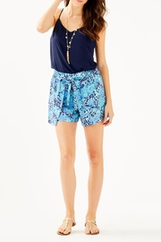 Lilly Pulitzer Dusk Reversible Top - Back cropped