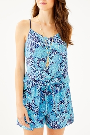 Lilly Pulitzer Dusk Reversible Top - Front cropped