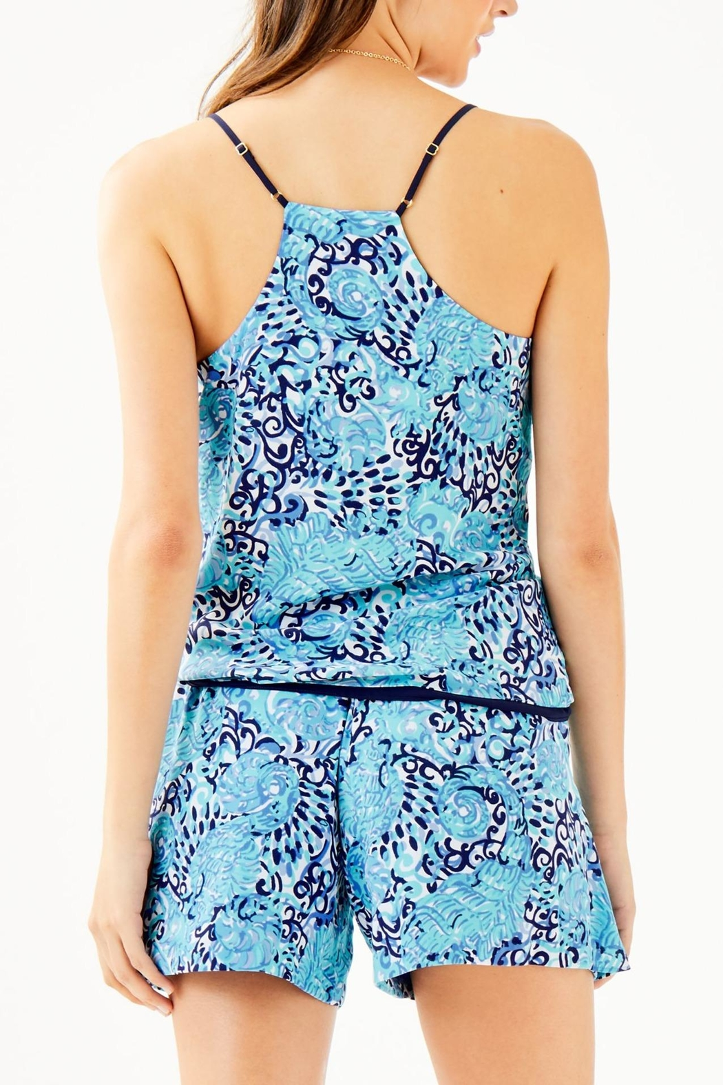 Lilly Pulitzer Dusk Reversible Top - Front Full Image