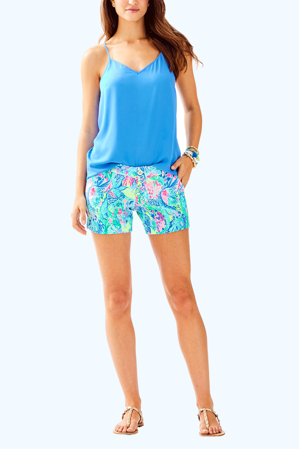 Lilly Pulitzer Dusk Top - Back Cropped Image