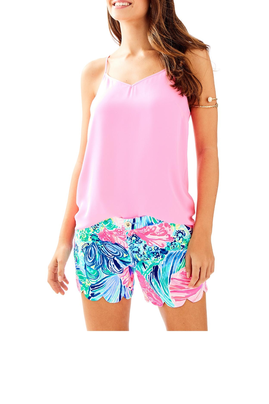 Lilly Pulitzer Dusk Top - Front Cropped Image