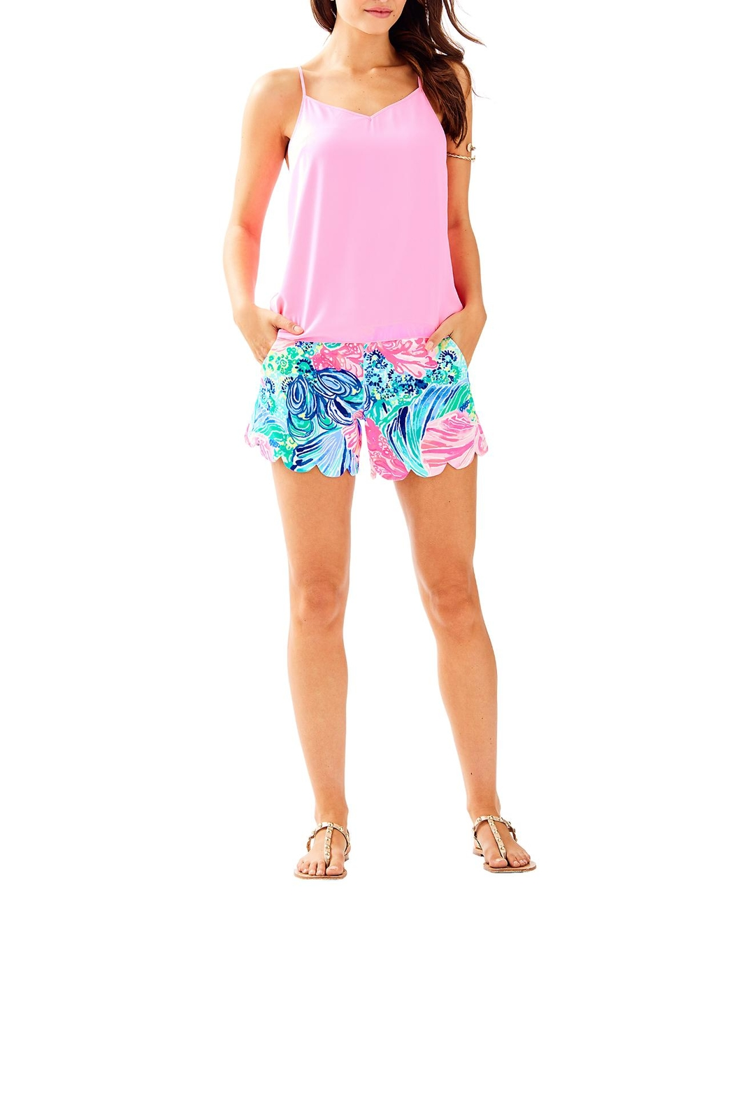 Lilly Pulitzer Dusk Top - Side Cropped Image